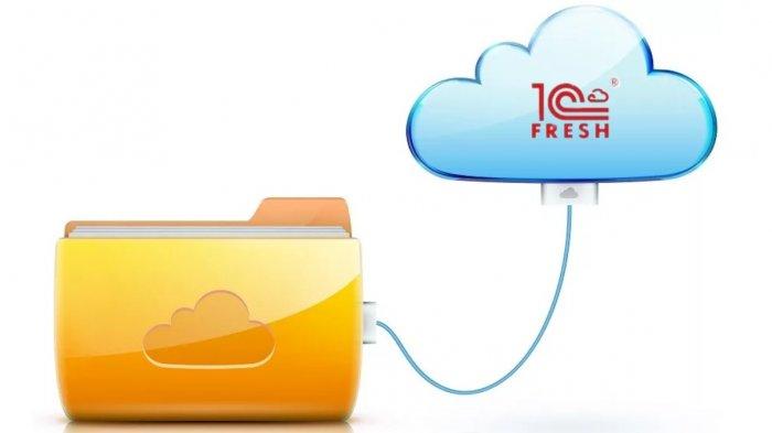 Как выгрузить данные из приложения сервиса «1С Фреш»?
