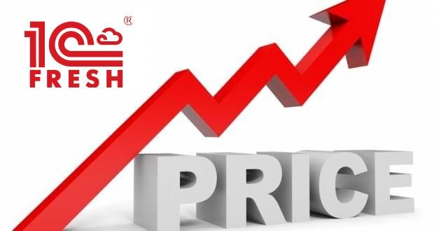Цены на тарифы 1С:Фреш c 01 января 2019 года